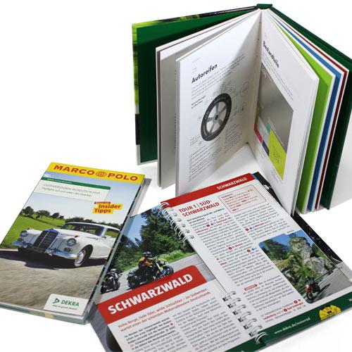 Roadbook und Motorrad-App präsentiert von DEKRA