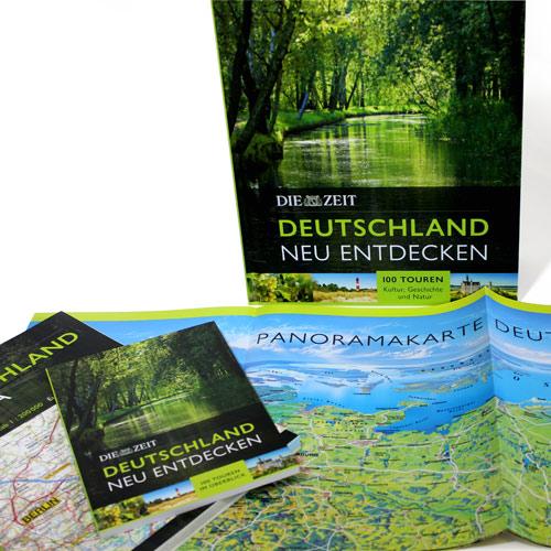 Zeit Verlag, Hamburg - Bildband Deutschland incl. Reiseführer und Panoramakarte