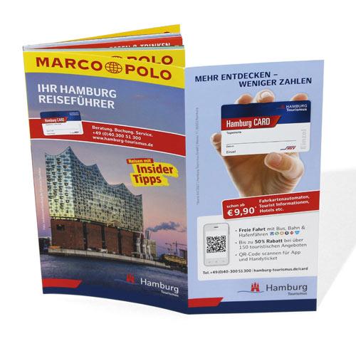 Hamburg Tourismus Reiseführer Marco Polo Zugabeartikel Mehrwert