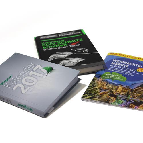 MARCO POLO Reiseführer, Wanderführer oder Rezeptbücher präsentiert von der Hexal AG