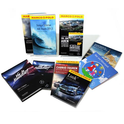 POS Aktionen und Buchproduktionen präsentiert von der Daimler AG