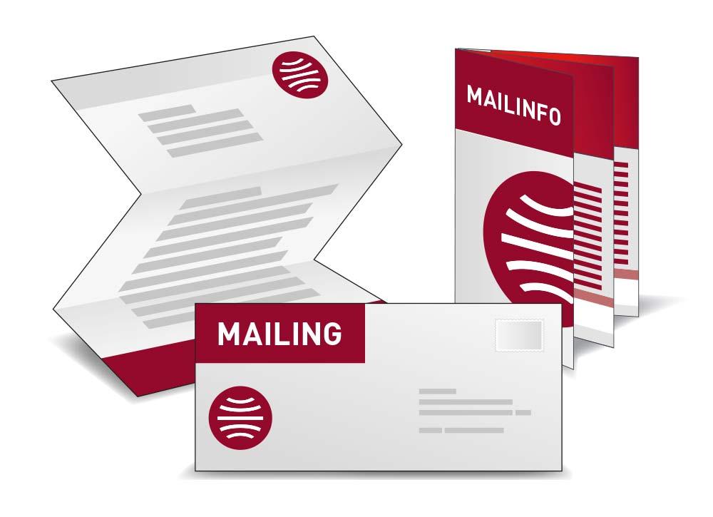 Mailing Icon Kommunikation Zielgruppe