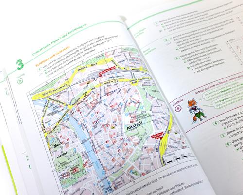 Schulbuch Zugabeartikel zielgruppengerechte Ansprache