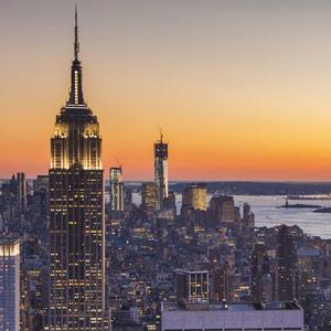 Sonstiges Stadt Sonnenuntergang