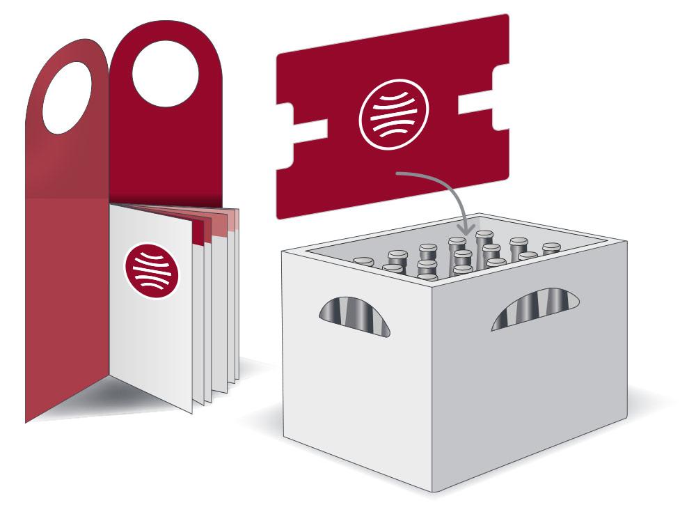 Onpack Zugabeartikel Mairdumont grafische Darstellung Kastenzugabe