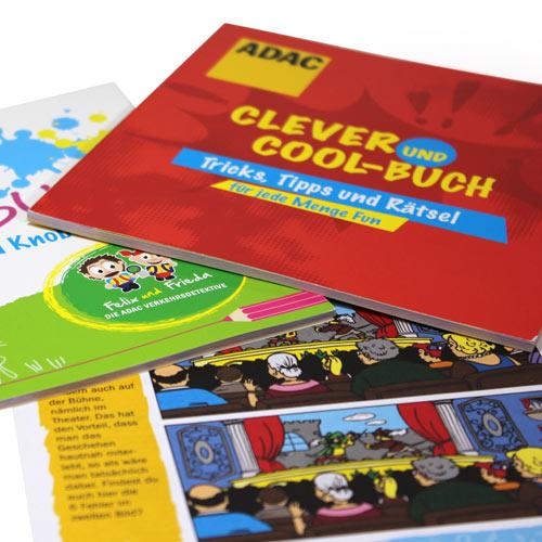 ADAC Malbuch für Kinder Zugabeartikel Incentive