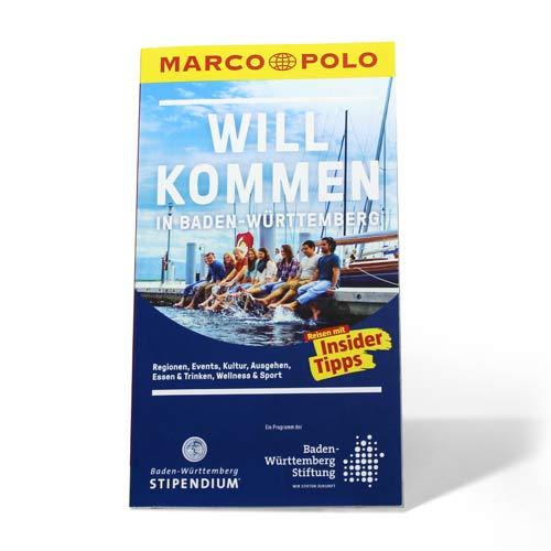 """Reiseführer """"Willkommen in Baden-Württemberg"""" präsentiert von der BW-Stiftung"""