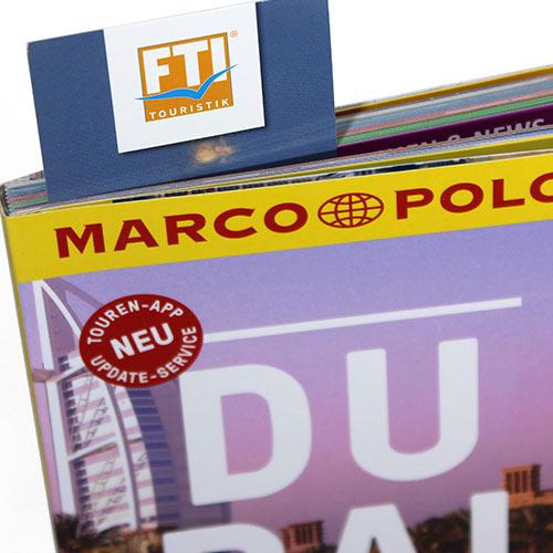 FTI Lesezeichen Marco Polo Kundenbindung