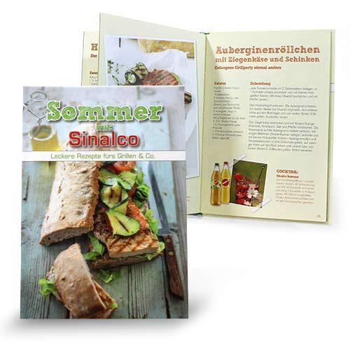 Grillbuch von der Sinalco GmbH