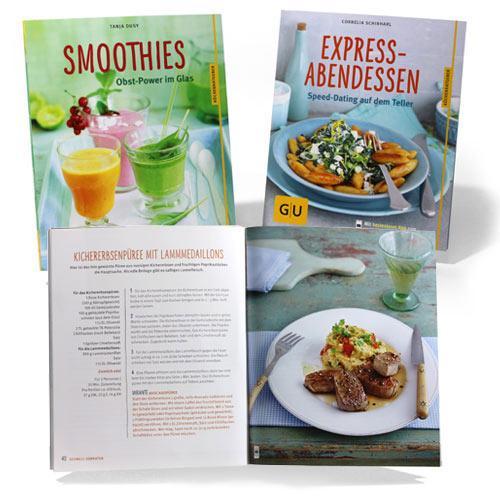 Kochbuch und MARCO POLO Wellness Guide präsentiert von Vitasprint B12, ein Produkt der Pfizer GmbH