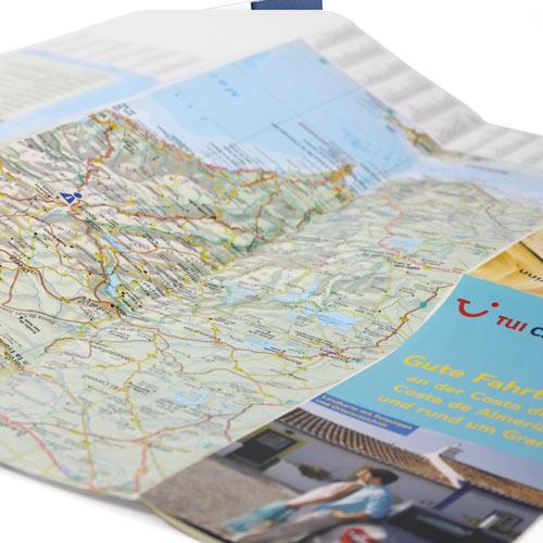Faltkarte TUI Cars Markenkommunikation Kundenbindung