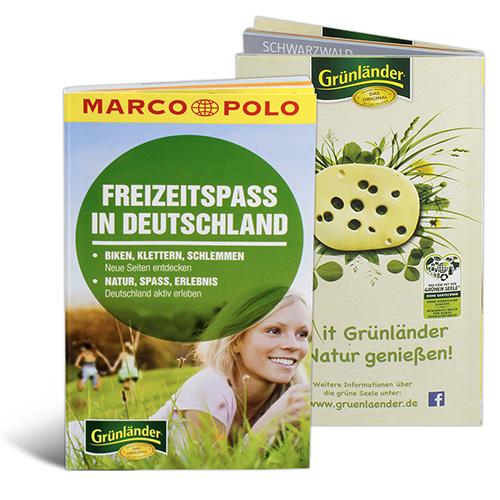 Marco Polo Sonderformat Freizeitspaß in Deutschland mit Grünländer