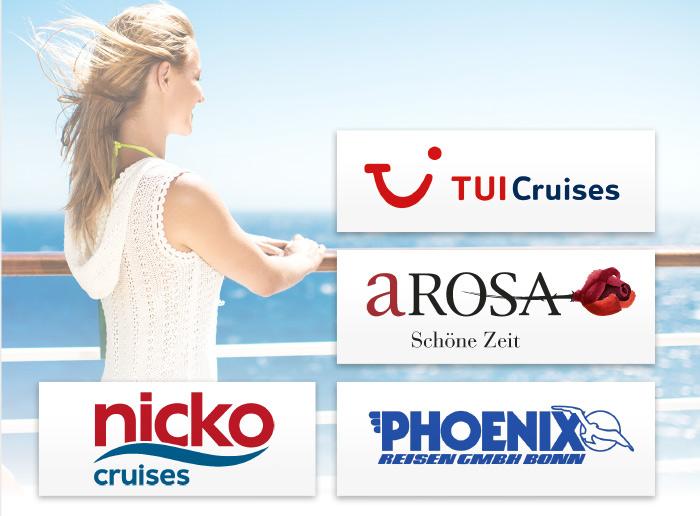 TUI Cruises Arosa Nicko Cruises Phoenix Logos Marken