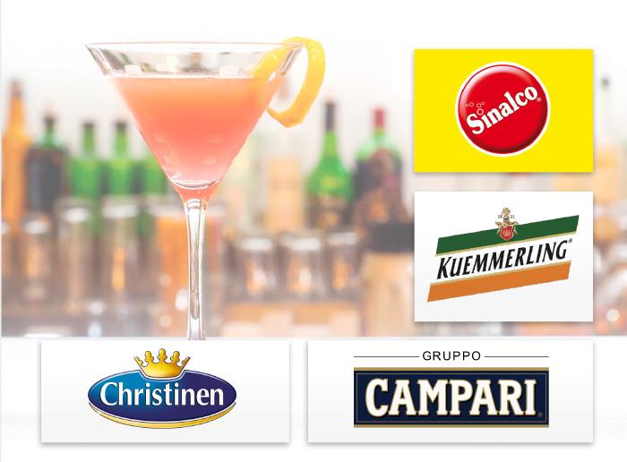 Christinen Campari Kuemmerling Sinalco Referenzen Kunden