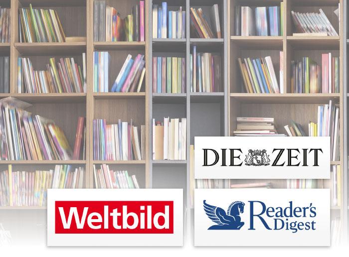 Die Zeit Readers Digest Weltbild Logos Verlage Kunden