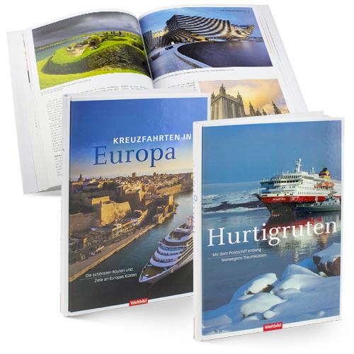 Weltbild Verlag, Augsburg - Bildbände zum Thema Kreuzfahrt